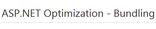 Страница менеджера ресурсов ASP.NET Optimization – Bundling на сайте NuGet Gallery