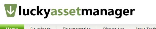 Страница менеджера ресурсов LuckyAssetManager на сайте CodePlex