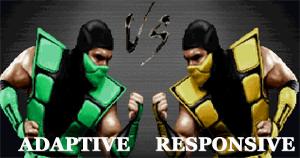 Адаптивный веб-дизайн vs. Отзывчивый веб-дизайн